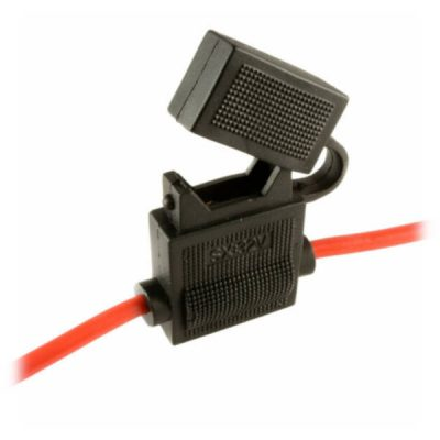 Inline Fuse Holder with 3A Fuse