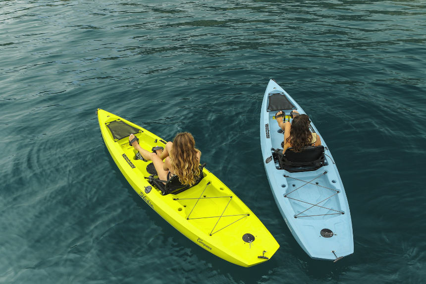 Hobie Compass Kayaks in Action