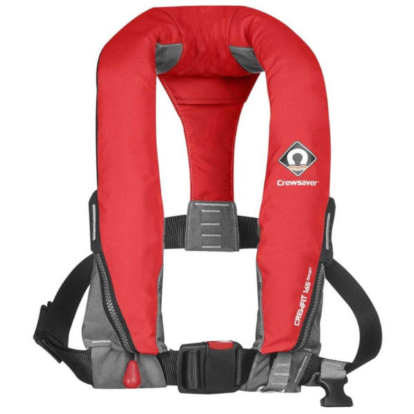 Crewfit 165N Sport Inflatable PFD Red