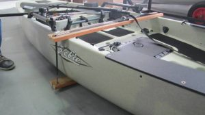 Remove ding from hobie kayak